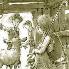 shepherds in the shelter