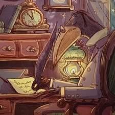 Raven writes a letter