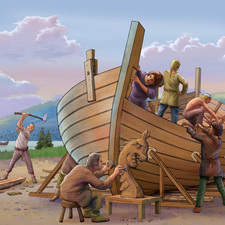 Building a Viking Longship