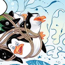 Penguins Of Madagascar, page 03, ©2015 Dreamworks UK Magazine