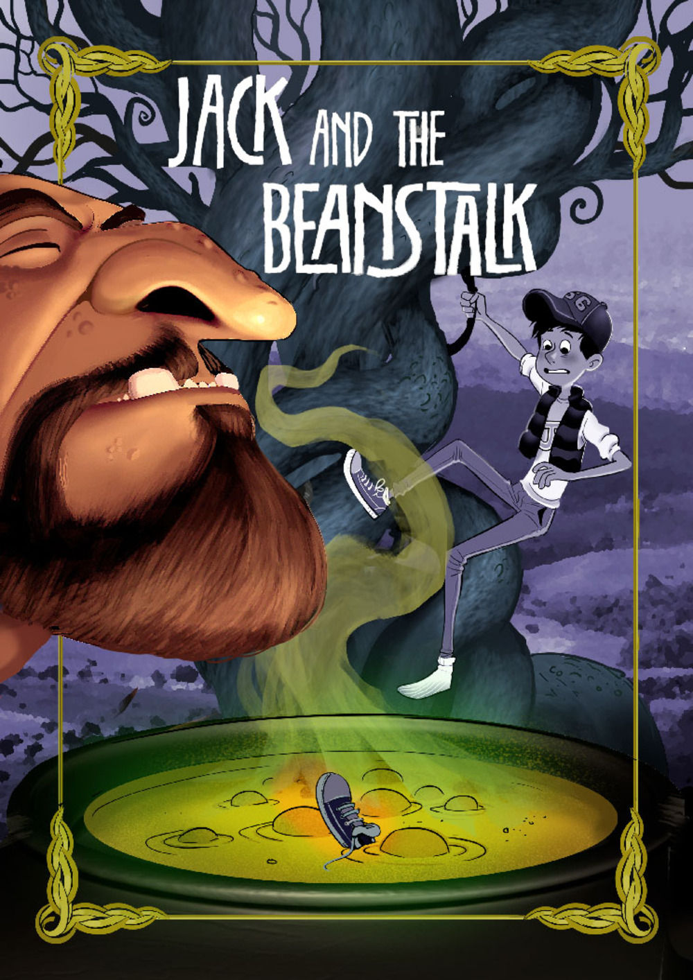 Cover for Jack and Beanstalk