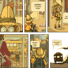 2 pages comic - everyday can be a wonderful adventure