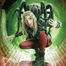 Girl & Spider Cvr