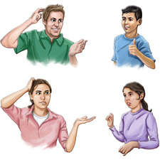 People interacting - Educational
