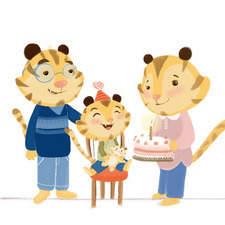 Tiger S Family By Alicia Arlandis