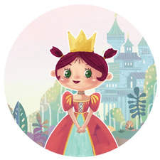 A Princess character I did for my personal project