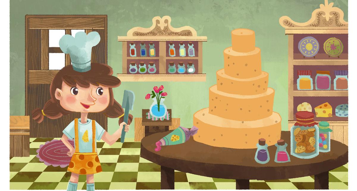 Cheesabelle Baking Cake