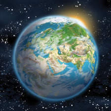 Planet Earth front cover - Ladybird