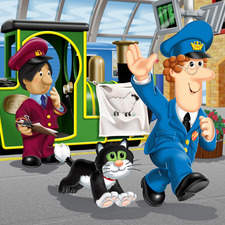 Postman Pat - book series illustration
