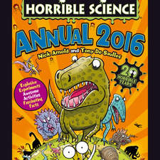 Cover illustration for Horrible Science Annual 2016