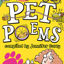 Pet Poems cover illustration for Scholastic Children's Books