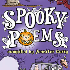 cover illustration for Spooky Poems commissioned by Scholastic Children's Books