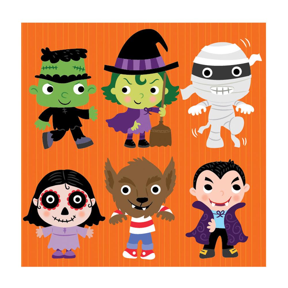 cute halloween character