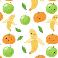 cute fruity pattern