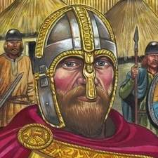 Alfred the Great, Realistic, History, Educational, Graphic Novel