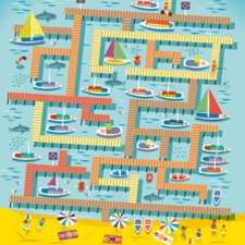 Usborne Harbour Maze Amended