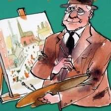 History Heroes - L.S Lowry by Damian Harvey