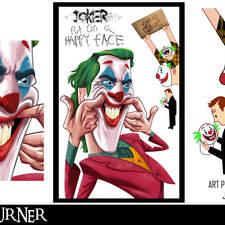 """An alternative poster for the film """"Joker"""""""