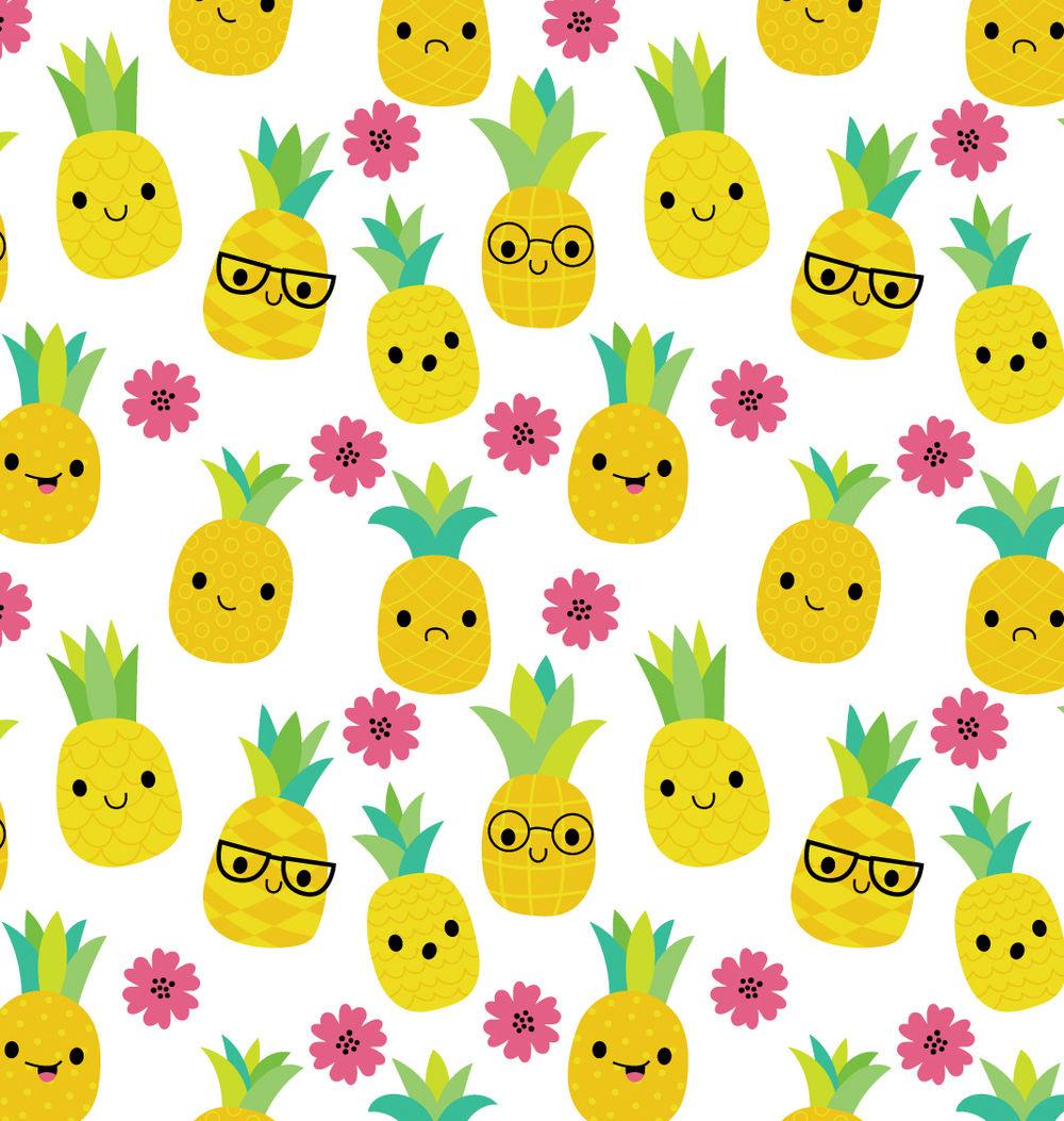 Pineapples pattern