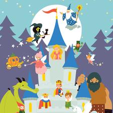 Illustration for Fairy Tale Thesaurus - Usborne