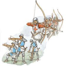 Archers and crossbowmen