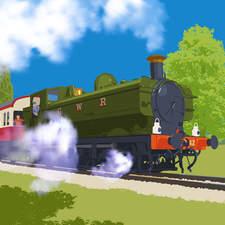 Steam Engine 1600
