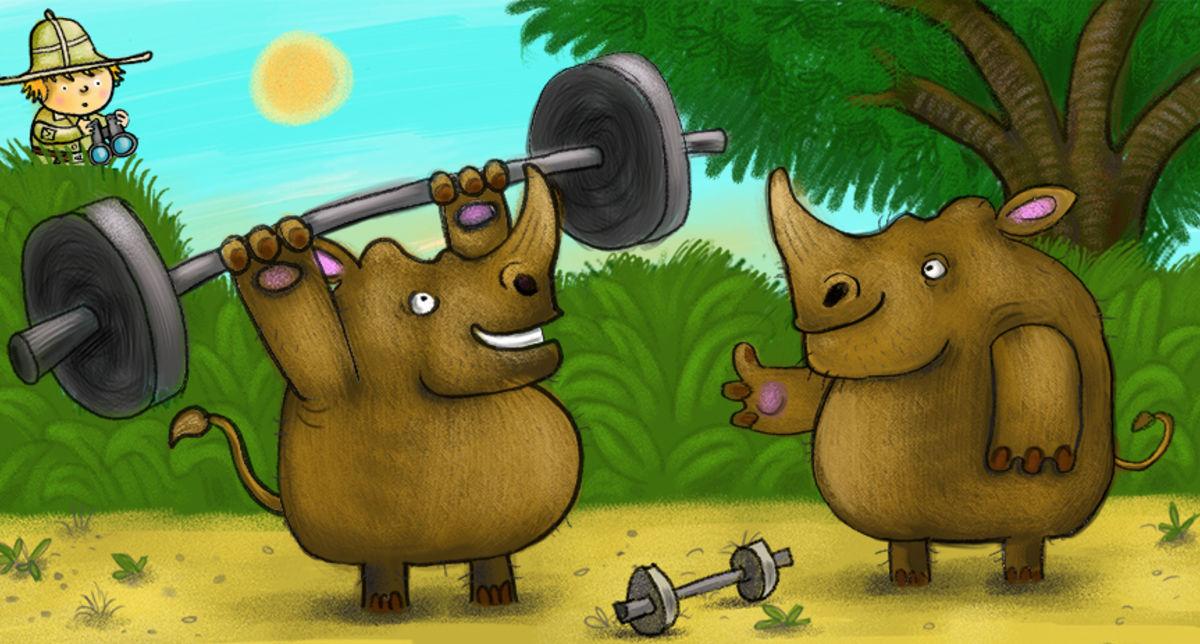 Big Rhinos Lifting
