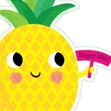 Pineapple card design