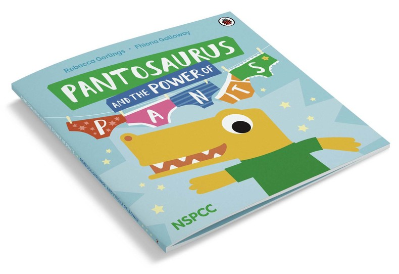 NSPCC Pantosaurus and the power of PANTS illustrated by Fhiona Galloway