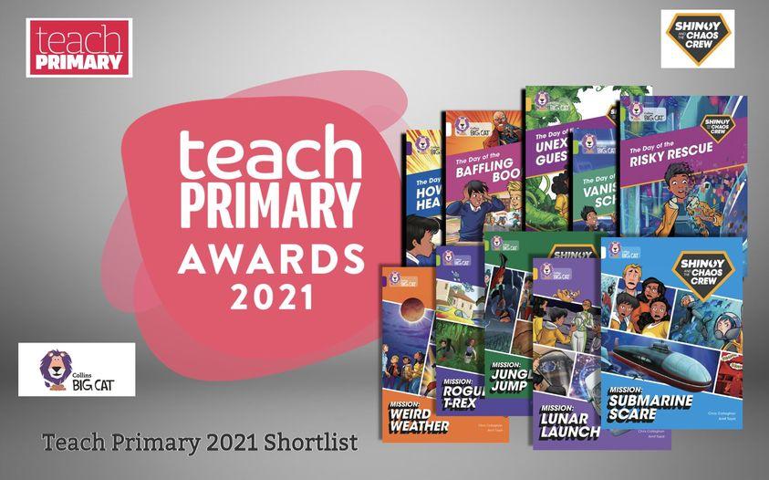 Teach Primary's 2021 Shortlist