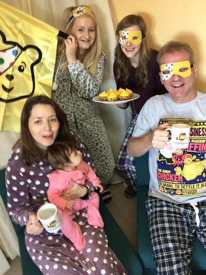 Bees in Pyjamas for Children in Need