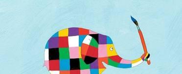 Dave Smith's Elephant for Elmer's Big Parade